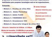 Diplomado en aplicaciones y diseño de páginas web