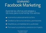 Seminario facebook marketing ----- apuntate millones de clientes te esperan