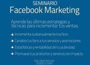 Seminario facebook marketing ----- apuntate millones de clientes te esperan