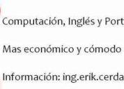 Clases de computación e inglés