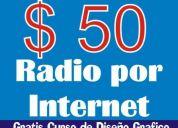 Transmite de manera fácil y económica, con tu propia  radio por internet