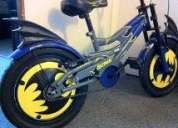 Día del niño- bicicleta de batman- sin uso