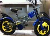 Bicicleta día del niño - batman
