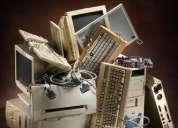 Compro  material de computo inservible o viejo