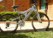 Bicicleta de montaÑa benotto 21 vel y doble suspension.
