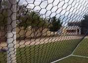 Redes perimetrales para protecion, contencion y deportivas y de futbol