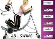 Ab swing  el ejercitador de abdomen mas eficas  marca