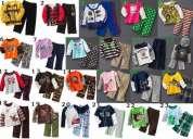 Set conjuntos carter para niñas y niños 24 conjuntos