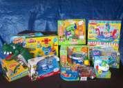juguetes leapfrog, play doh, hasbro,toystory etc. nuevos en oferta