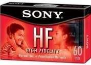 5 audio casettes sony hf-60. por $65.00