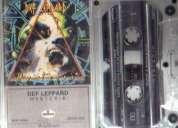 Audio cassette def leppard, hysteria