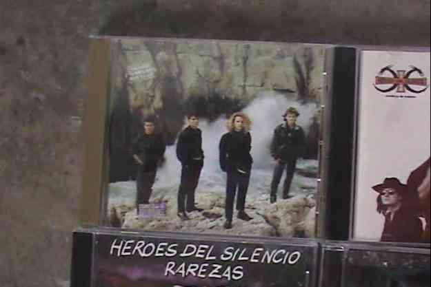 Heroes del silencio - Varios discos
