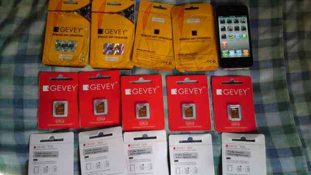 Gevey Supreme Gevey Ultra iPhone 4 Unlock