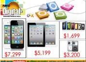 Productos apple iphone 4s, ipad 2,ipod touch,ipod classis,ipod nano nuevos $desde$