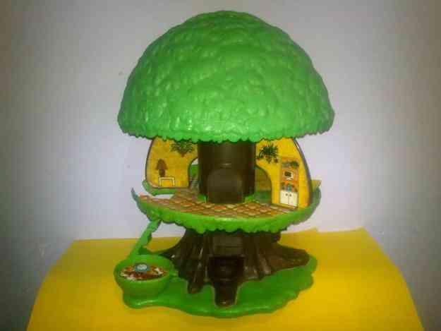 Casita del arbol mattel juguete antiguo lili ledy benito for Casita de juguete para jardin