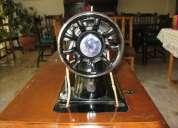 Máquina de coser antigua marca singer 15-88