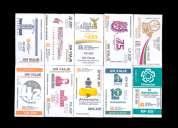 Mini coleccion de boletos conmemorativos del s.t.c. metro