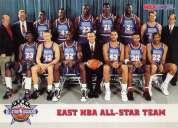 Tarjetas de basquet bol americanas.david robinson karl malone michael jordan etc.