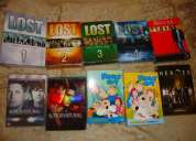 Se venden series de television famosas (lost, house, supernatural, family guy, heroes)
