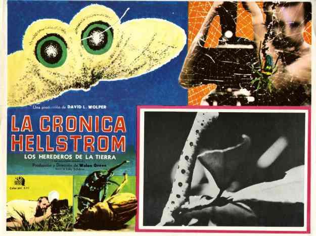 LA CRONICA DE HELLSTROM DVD subtitulada en español (0155) 2231-8855