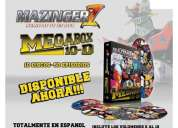 Dvd megabox mazinger z vol. 6 al 10
