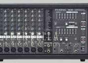 Remato mezcladora amplficada profecional phonic 740 plus