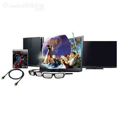 Pantalla Sony Bravia Led+Full HD+3D, Smart Tv mod: KDL-EX720 3D y PlayStation 3