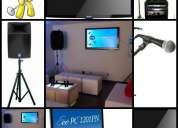 Rento equipo de sonido ( karaoke)
