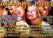 El mejor servicio de karaoke profesional en mérida, para todo tipo de eventos!!!
