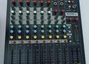Soundcraft - epm6 mezcladora de 6 canales nueva!!