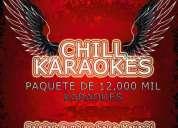 Karaokes en espaÑol & ingles todos los generos