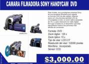 Video camaras sony handycam seminuevas