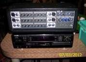 Consola mezcladora amplificada 6 canales ( remato )