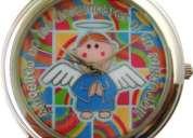 Relojes de moda con imÁgenes de virgencitas y angelito