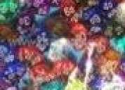 Dados a granel de 4, 6, 8, 10, 12, 20 caras de diversos colores