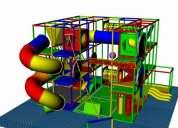 Juego infantil playground laberinto