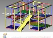 Mantenimiento de juegos tipo playground y venta de accesorios