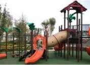 Juegos infantiles para jardines, parques y plazas comerciales