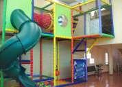 Juegos infantiles para centros comerciales y areas de fast food