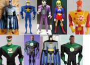 Liga de la justicia, firestorm, supergirl, huasón, starman, batman, kyle rayner, etc