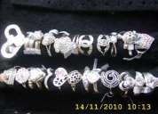 Joyeria de plata, anillos, aretes, cadenas, pulceras a buen precio!!