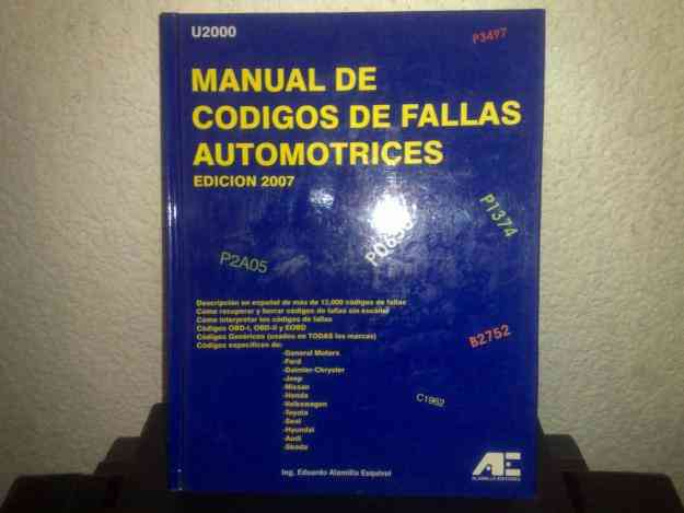 MANUAL DE CODIGOS DE FALLAS AUTOMOTRICES