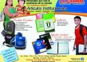 Cuadernos personalizados para escuelas e instituciones - cuadernos escolares