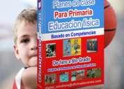 Planes de clase de educacion fisica para primaria por competencias