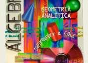 Se vende libro Álgebra y trigonometrÍa con geometrÍa analÍtica
