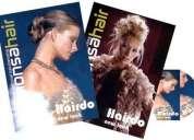 Hairdo new look 2 vols + 1 cd rom