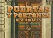 Puertas y portones residenciales 1 tomo ediciones daly