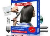 Curso de corte de cabello+envio gratis !!