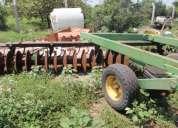 Rastra agricola para tractor marca john deere de 50 discos