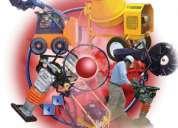 Amyeco le ofrece venta y renta de andamios, maquinaria ligera para construccion